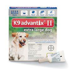 Bayer K9 Advantix II Tratamentul de control al frotiului pentru câini