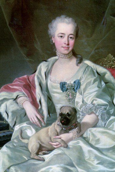 Portretul prințesei Ekaterina Dmitrievna Golitsyna de Louis-Michel van Loo (1759) Wikipedia